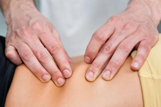 Technique manuelle d'ostéopathie